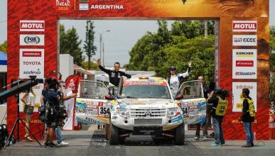 Salida de Cristina Gutiérrez Dakar 2018
