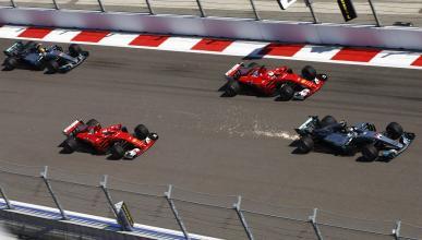 Salida GP Rusia 2017