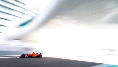 Sebastian Vettel en el GP de Abu Dhabi