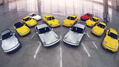 A subasta una colección completa de Porsche 964