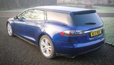 Tesla Model S familiar
