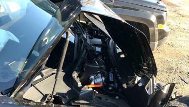 Accidente Tesla Model 3
