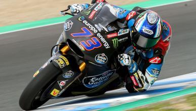 Álex Márquez, el más rápido en el Test Moto2 Jerez 2018