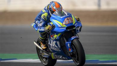 Álex Rins muestra el potencial de Suzuki para 2018
