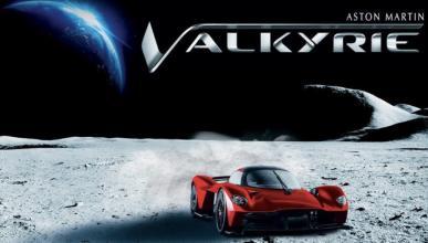 Aston Martin Valkyrie polvo lunar
