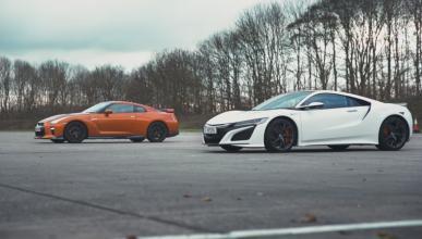 Honda NSX y Nissan GT-R