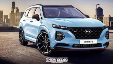 Hyundai Santa Fe N render