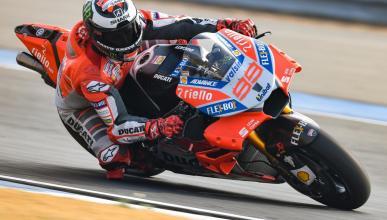 Jorge Lorenzo, contento a medias con la Ducati GP18
