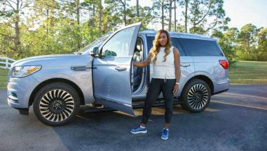 Lincoln Navigator Serena Williams