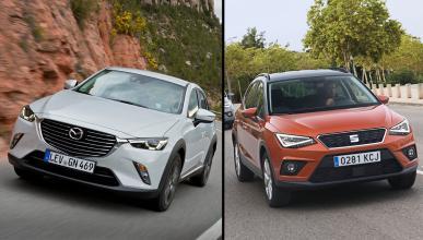 Mazda CX-3 vs Seat Arona