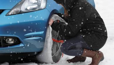 Neumáticos de nieve o cadenas, ¿qué es mejor?