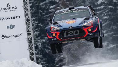 Neuville en el Rally de Suecia