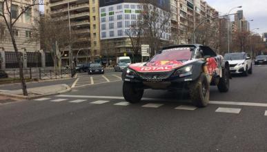 El Peugeot del Dakar en Madrid