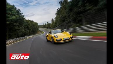Porsche 911 Turbo S en Nürburgring