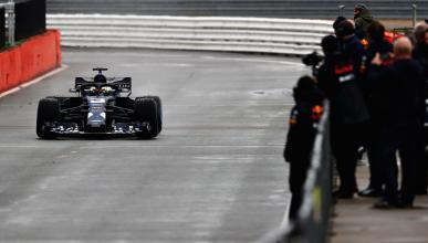 Susto Red Bull test F1 2018