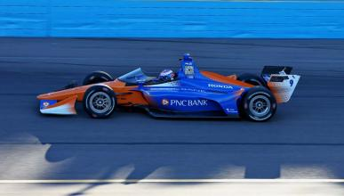 Test Indycar windscreen