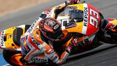 Test MotoGP Tailandia 2018: Márquez domina el segundo día