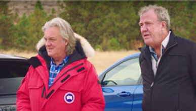 El test de perros de 'The Grand Tour'
