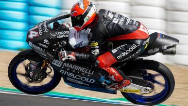 Tony Arbolino, el más rápido del Test Moto3 Jerez 2018