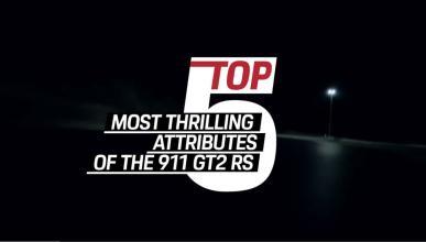 5 mejores características Porsche 911 GT2 RS
