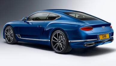 Bentley Continental GT 5 datos