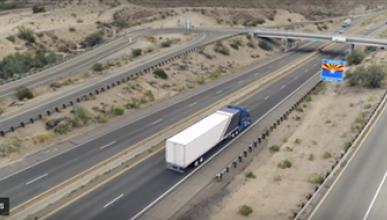 Camiones autónomos de Uber