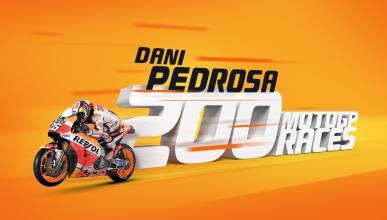 Dani Pedrosa, 200 carreras en MotoGP