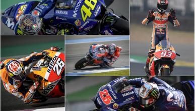 Favoritos MotoGP 2018
