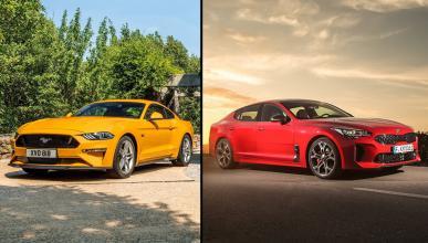 Kia Stinger GT vs Ford Mustang GT