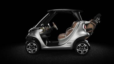 Mercedes Garia Golf Cart