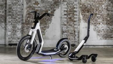 Monopatín y scooter eléctrico VW