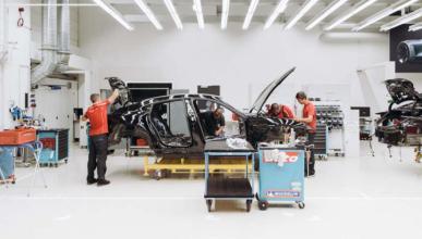Porsche Mission E desarrollo