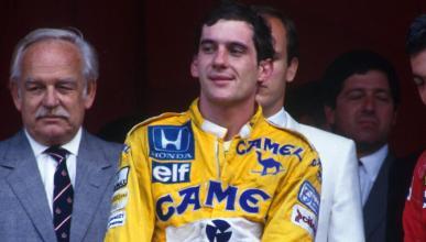 Senna en el GP Mónaco 1987