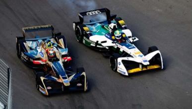 Vergne y Di Grassi Formula E