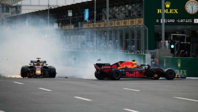 Accidente de Red Bull en Azerbaiyán