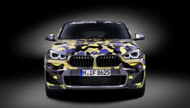 BMW X2 Digital Camo