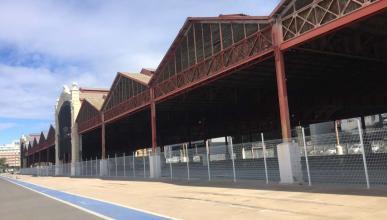 Boxes F1 Valencia