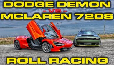 Dodge Demon VS McLaren 720S
