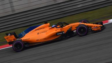 Fernando Alonso en la clasificación del GP China