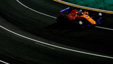 Fernando Alonso en el GP de Australia