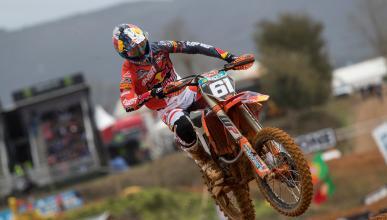 Jorge Prado vence con autoridad en el MXGP de Portugal