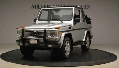 Mercedes G500 Convertible