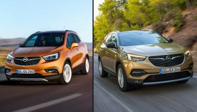 Opel Grandland X vs Opel Mokka X