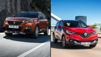 Peugeot 3008 vs Renault Kadjar