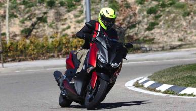 Prueba Yamaha X-Max 125 2018