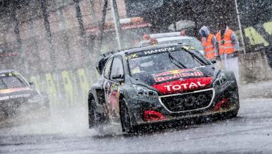 Rallycross nieve Peugeot