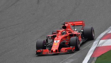 Sebastian Vettel manda en China