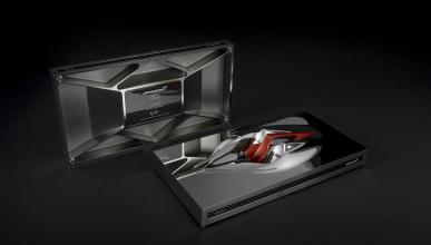 'Speed Form', la escultura del McLaren BP23