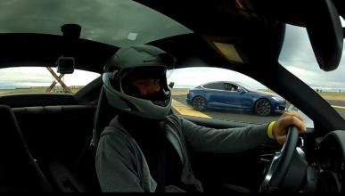 Tesla Model S P100D vs Porsche 911 Turbo S