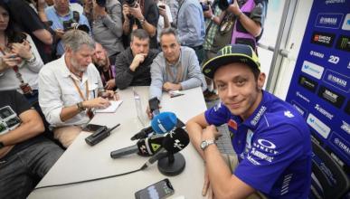 Valentino Rossi habla sobre Márquez y Argentina en Austin